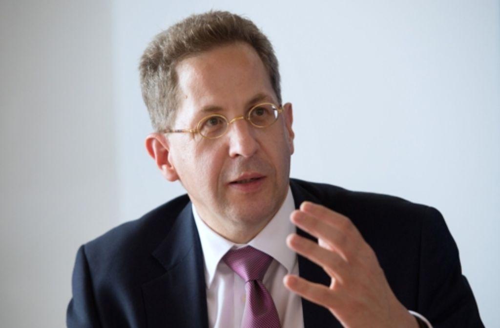 Hans-Georg Maaßen, der Präsident des Bundesamtes für Verfassungsschutz, hat Anzeige  gegen Unbekannt erstattet. Foto: dpa
