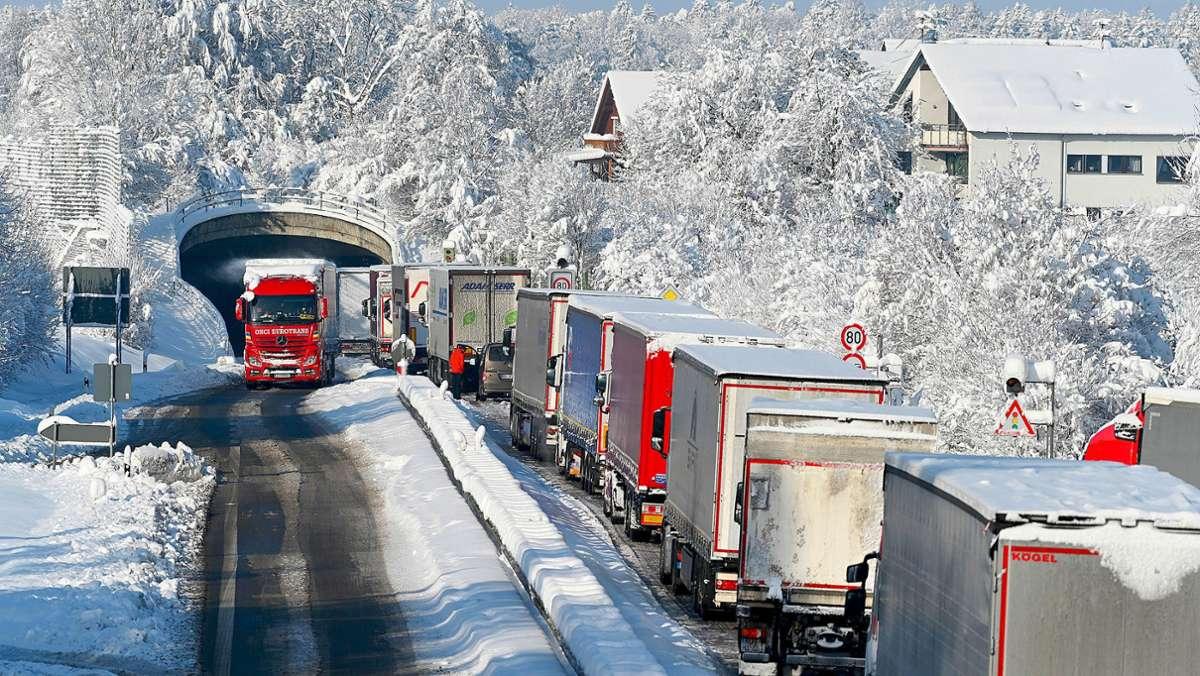 Polizei warnt vor Lawinen im Schwarzwald