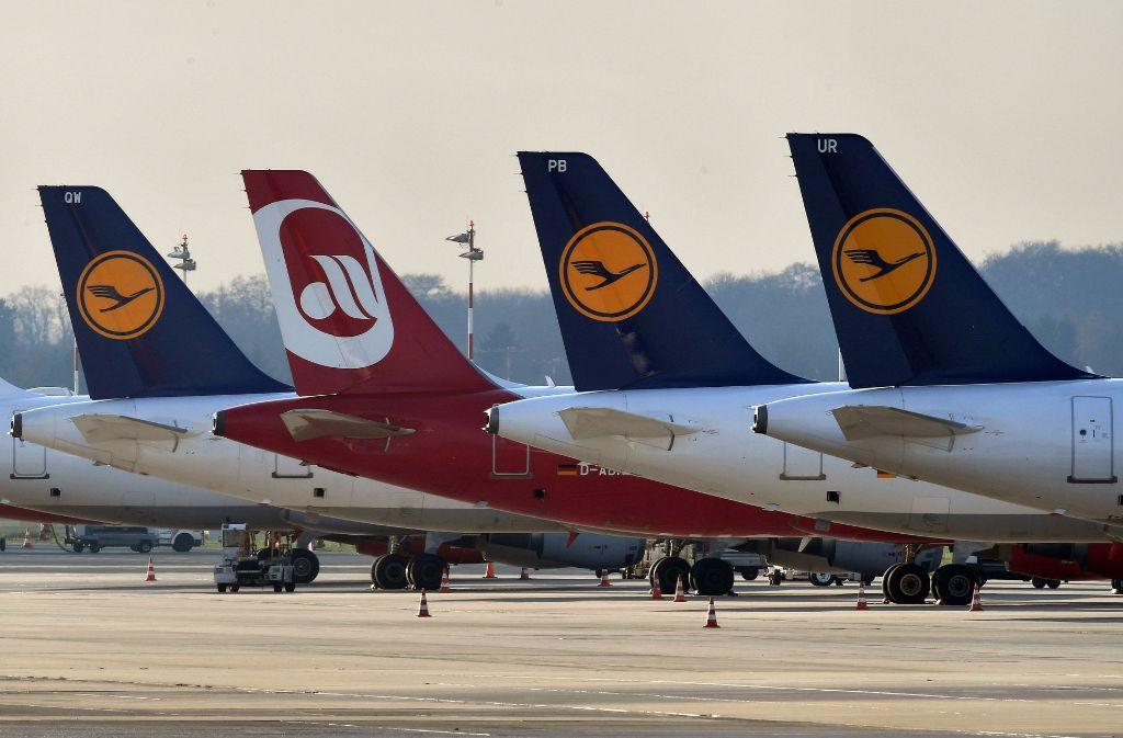 Die Lufthansa wird große Teile der Air Berlin Airline übernehmen. Foto: dpa