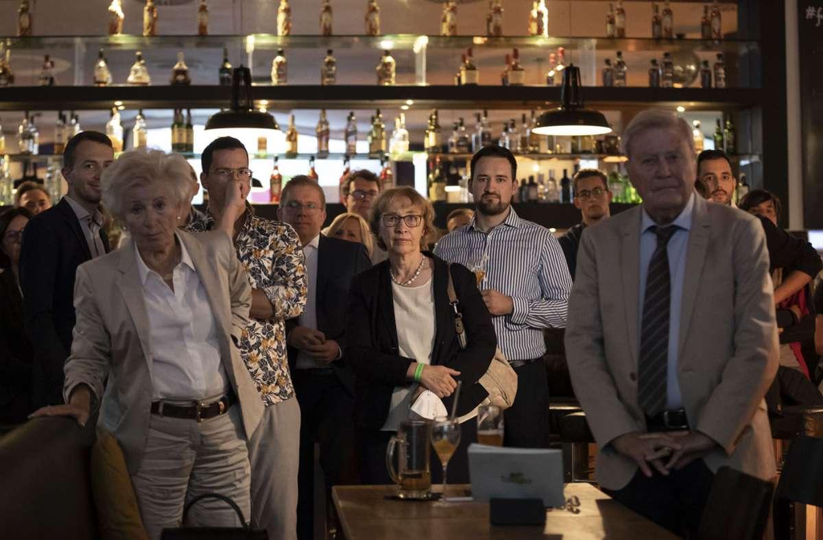 Ernüchterung herrschte bei der CDU. Foto: Lichtgut/Julian Rettig