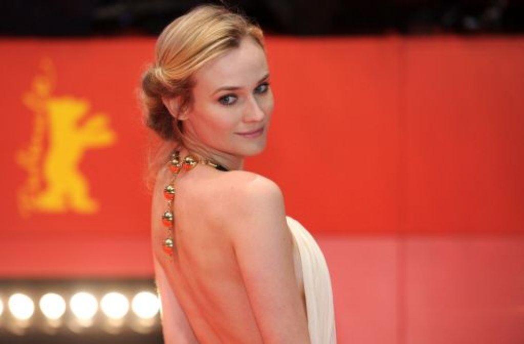 2011 war sie schon einmal da - zur 64. Berlinale wird Deutschlands schönster Re-Import Diane Kruger auch erwartet. Foto: dpa