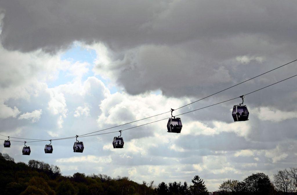 Über den Stau hinweg schweben: auch eine Option für Stuttgart? Foto: dpa