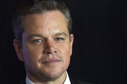 Matt Damon feiert Premiere in Las Vegas