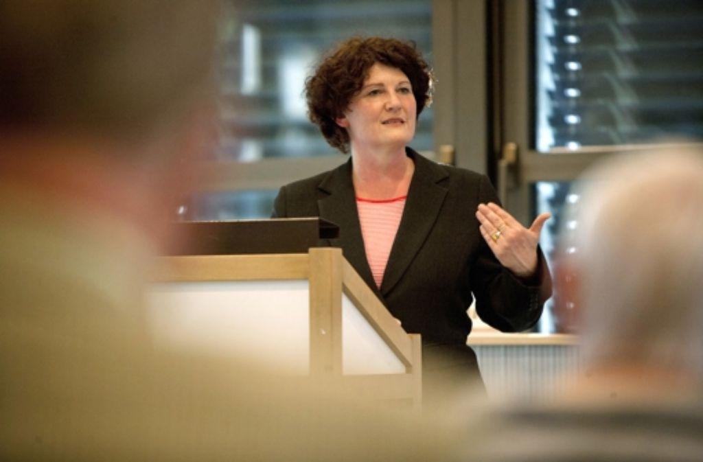 Bettina Wilhelm will für die SPD den OB-Sessel im Rathaus erobern. Foto: Steinert