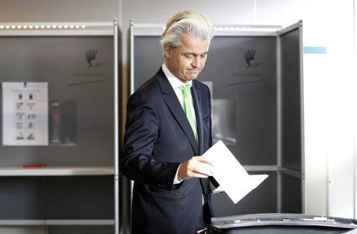 Schlappe für Rechtspopulist Geert Wilders