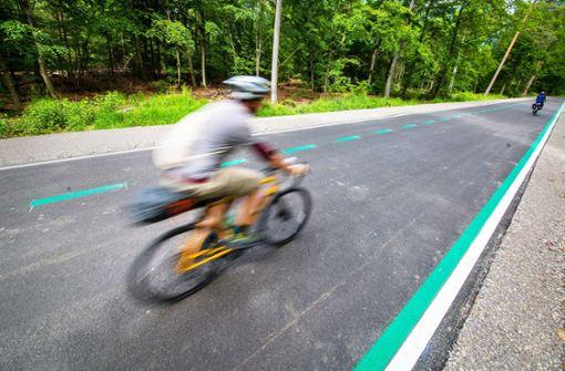 Radschnellwege sind noch Stückwerk