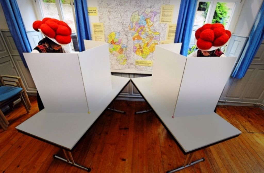 Wählen im Schwarzwald – am 25. Mai sind auch wieder Kommunalwahlen im Land. Foto: dpa