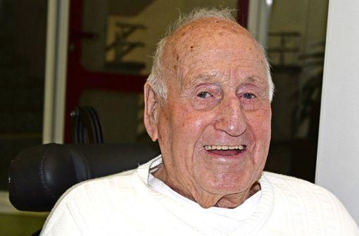 Hubert Steimle feiert 90. Geburtstag