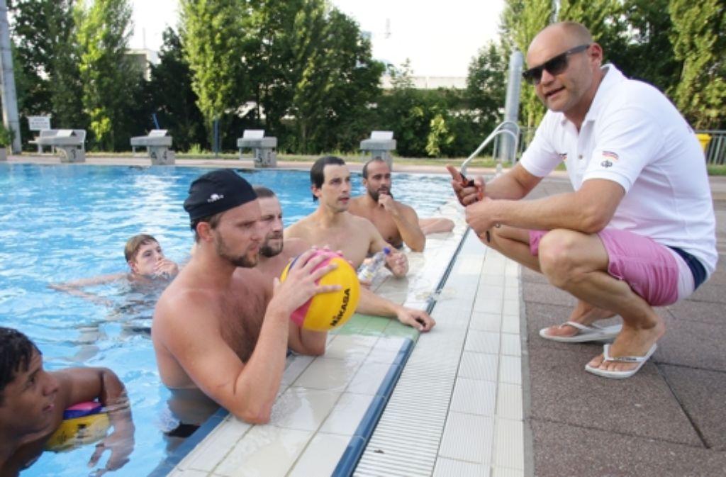 Patrick Weissinger (rechts) weist seit Kurzem das deutsche Nationalteam an. Foto: Baumann