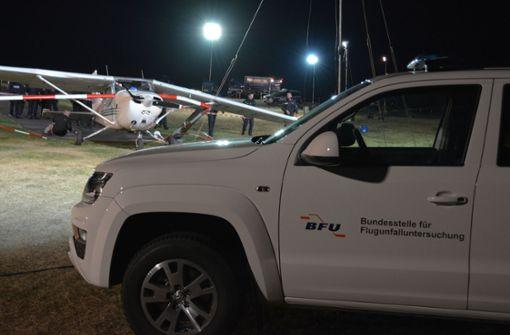 Tödliche Flugzeuglandung - Identität von zwei Opfern weiter unbekannt