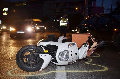 Sushi-Lieferant bei Unfall schwer verletzt