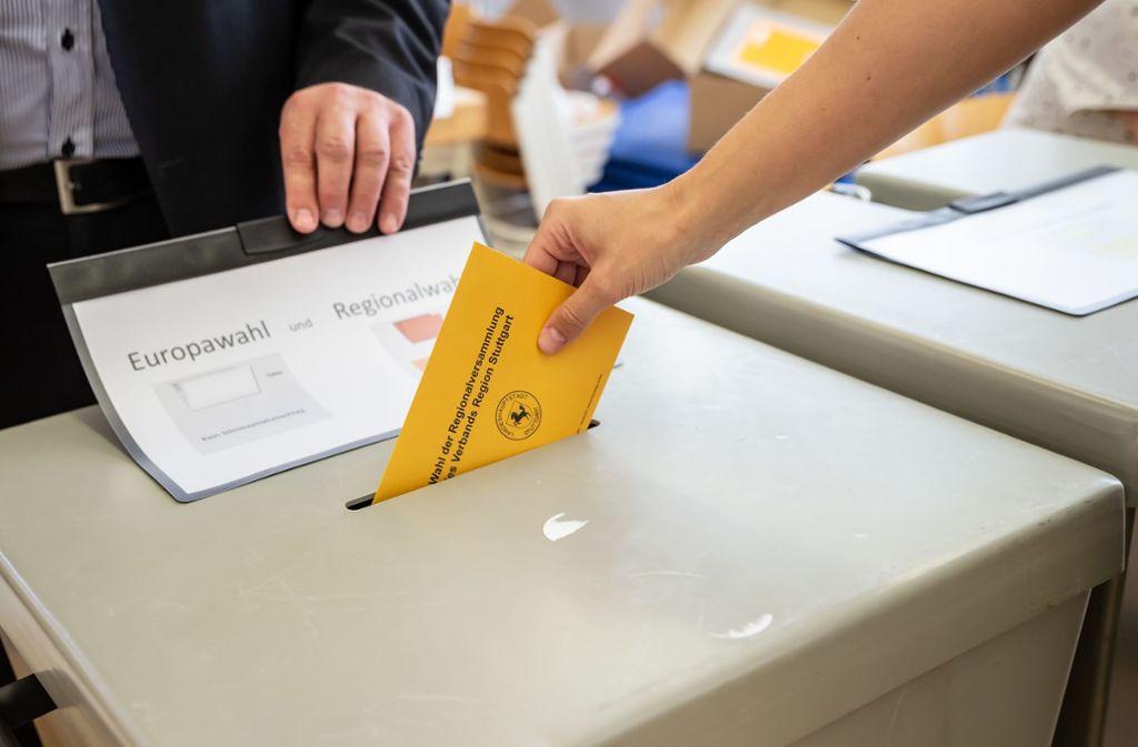 In Baden-Württemberg zeichnet sich eine höhere Wahlbeteiligung ab als 2014. Foto: Lichtgut