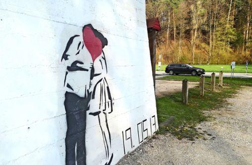 War Banksy in Leinfelden-Echterdingen?
