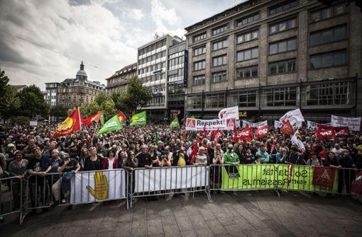 Stuttgart wird Schauplatz einer Großdemonstration