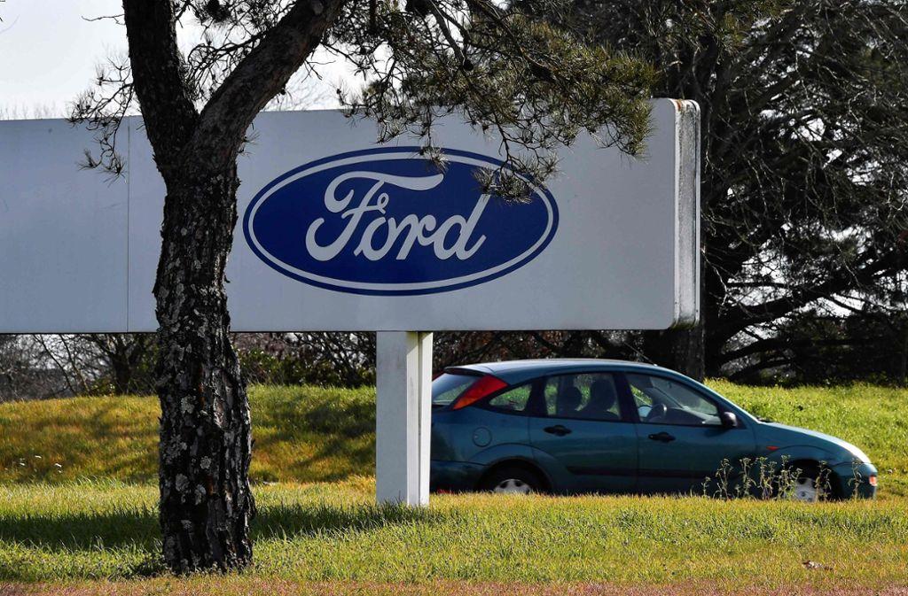 Der Jobabbau bei Ford soll über Abfindungen und Frühverrentungen erreicht werden. Foto: AFP