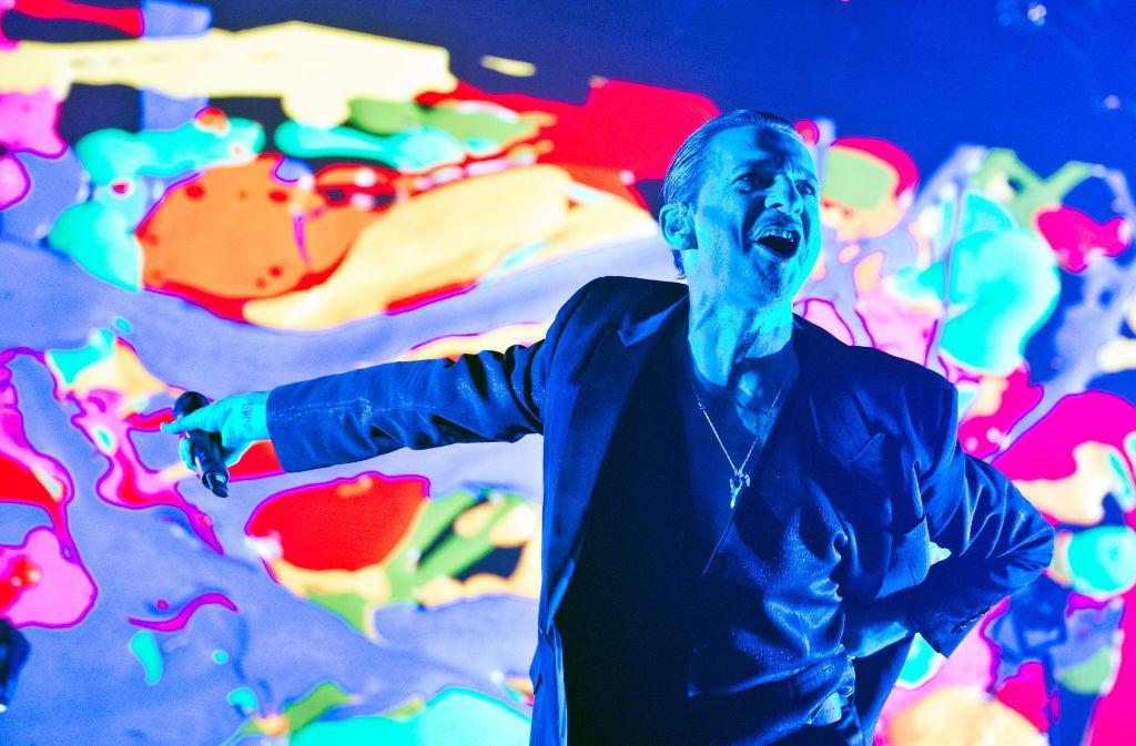 Depeche Mode  haben in Stuttgart begeistert. Foto: Lichtgut - Oliver Willikonsky