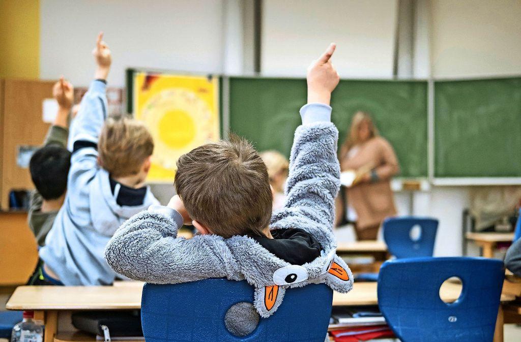 Die Grundschüler im Südwesten  werden wieder mehr, ihre Lehrer weniger. Foto: dpa