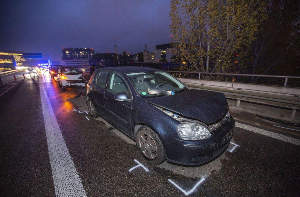 Bei einem Unfall in Stuttgart-Ost wurden drei Frauen leicht verletzt. Foto: 7aktuell.de/Simon Adomat