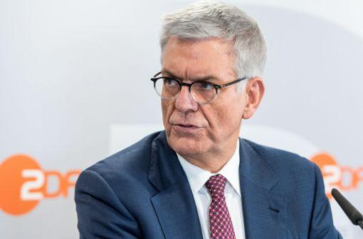 ZDF-Intendant will höheren Rundfunkbeitrag
