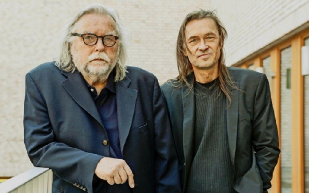 Hans-Robert Schlecht und Florian Oliver Schlecht vom Verein Rosen-Resli wollen Kulturarbeit leisten. Foto: Lg/Piechowski