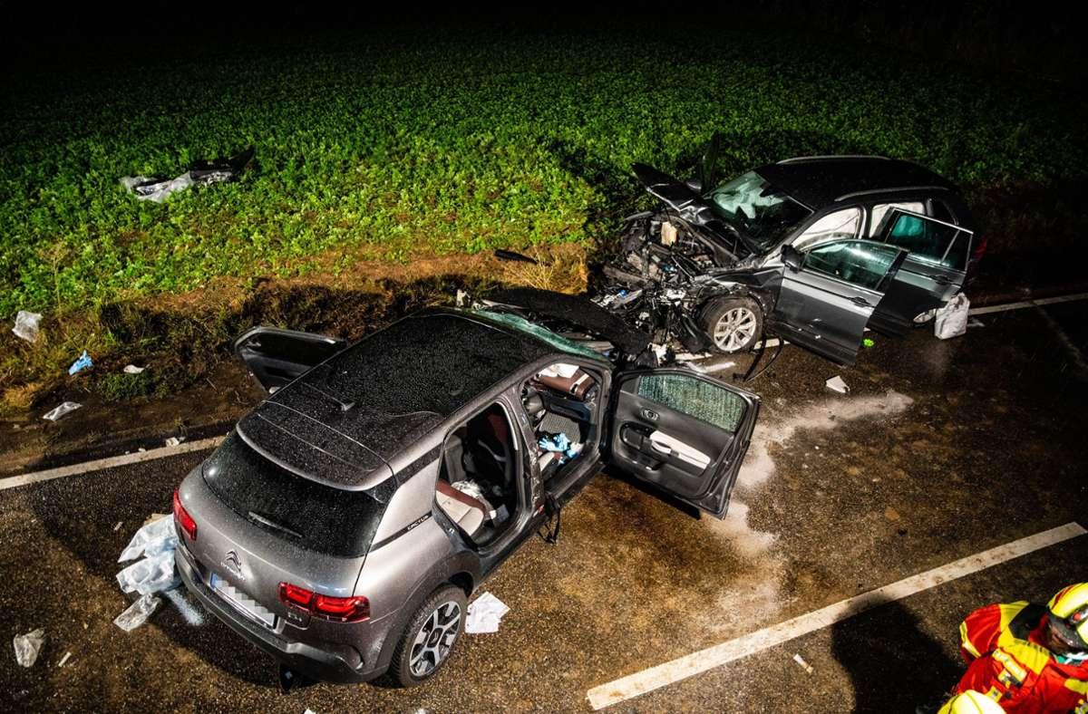 Am Samstagabend ist im Kreis Ludwigsburg bei Oberstenfeld ein tödlicher Unfall passiert. Foto: 7aktuell.de/Nils Reeh