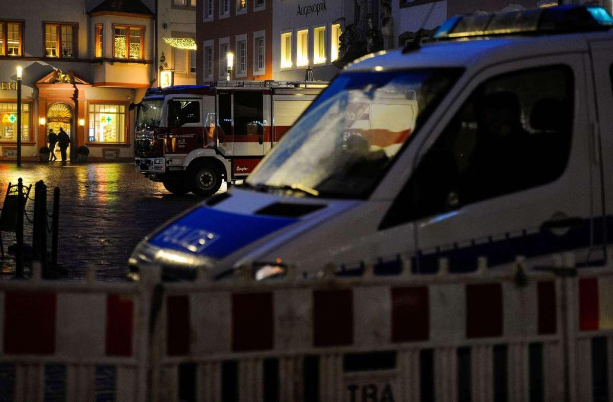 Beamte hatten unmittelbar nach der Tat am Mittag einen 51 Jahre alten Deutschen aus dem Kreis Trier-Saarburg festgenommen. Foto: AFP/JEAN-CHRISTOPHE VERHAEGEN