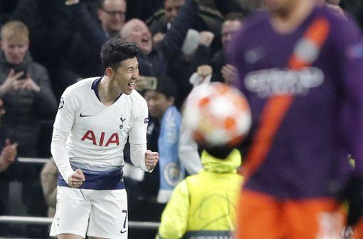 Tottenham gelingt historischer Sieg gegen ManCity