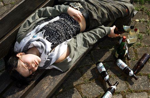 Komatrinken bei Jugendlichen wieder leicht gestiegen