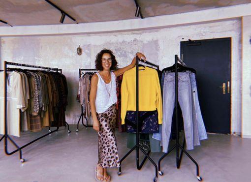 Vintage shoppen mit Ausblick bei Frida West
