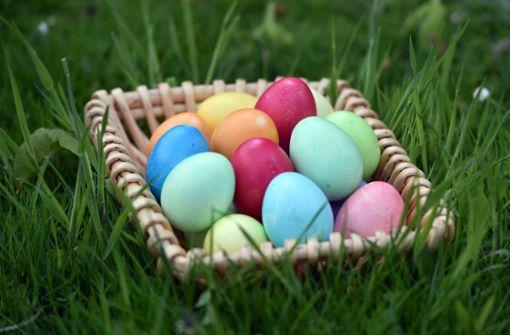 Dieb klaut Kindern Osternester