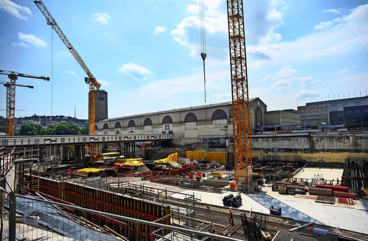 Der neue Stuttgarter Tiefbahnhof wird acht Gleise haben, sein Ideengeber Gerhard Heimerl hatte sich zehn gewünscht. Foto: Lichtgut/Max Kovalenko