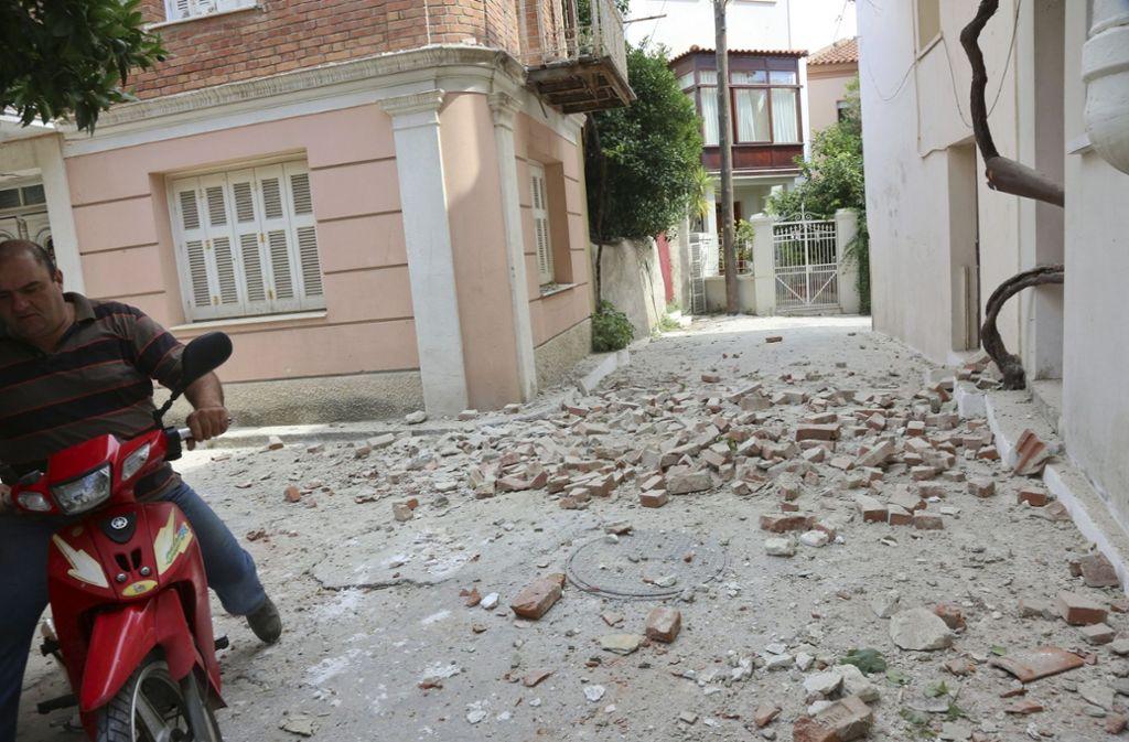 Vor der türkischen Ägäisküste hat die Erde gebebt. Foto: InTime News