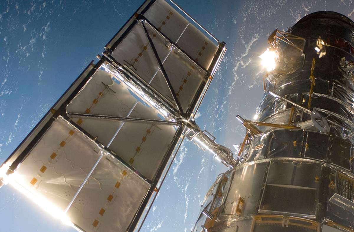 Seit über 30 Jahren beobachtet das Weltraumteleskop Planeten, Sterne und Galaxien. Foto: NASA