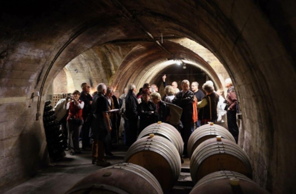 Barrique-Wein Foto: Achim Zweygarth