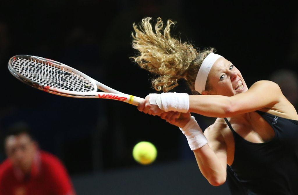 Wieder in Stuttgart am Ball: Tennisprofi Laura Siegemund Foto: Baumann