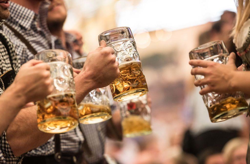 Frisch gezapftes Bier wird teurer. (Symbolbild) Foto: Lichtgut/Max / Kovalenko