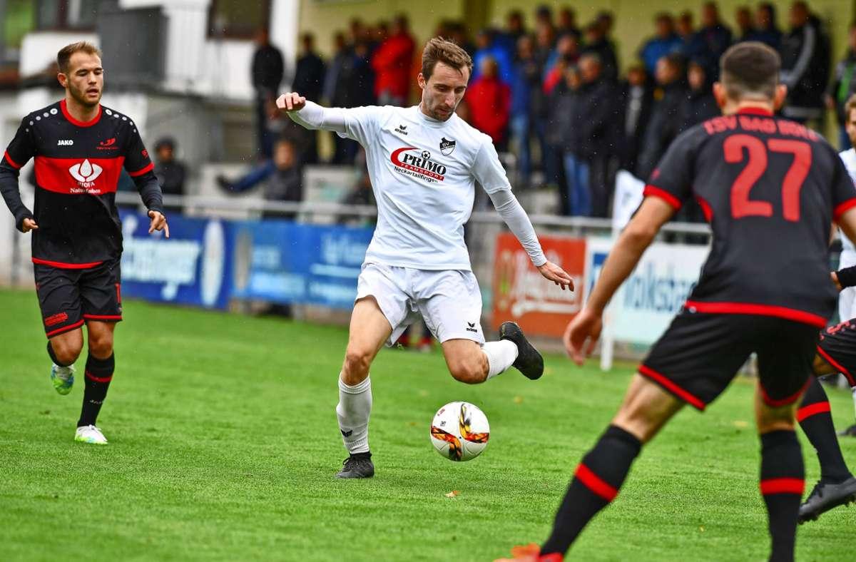 Alexander Ringger fehlt dem Landesligisten SV Bonlanden mit einem Kreuzbandriss mehrere Monate. Foto: Archiv Tom Bloch
