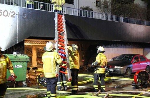 Fotostrecke Tiefgaragenbrand in Bietigheim Bissingen