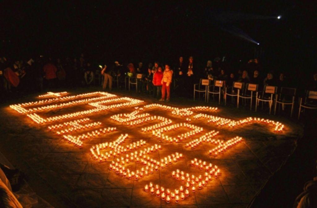 An der  weltweiten Aktion haben sich im letzten Jahr viele Menschen beteiligt. Foto: AFP