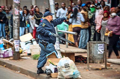 In Südafrika bahnt sich eine Katastrophe an