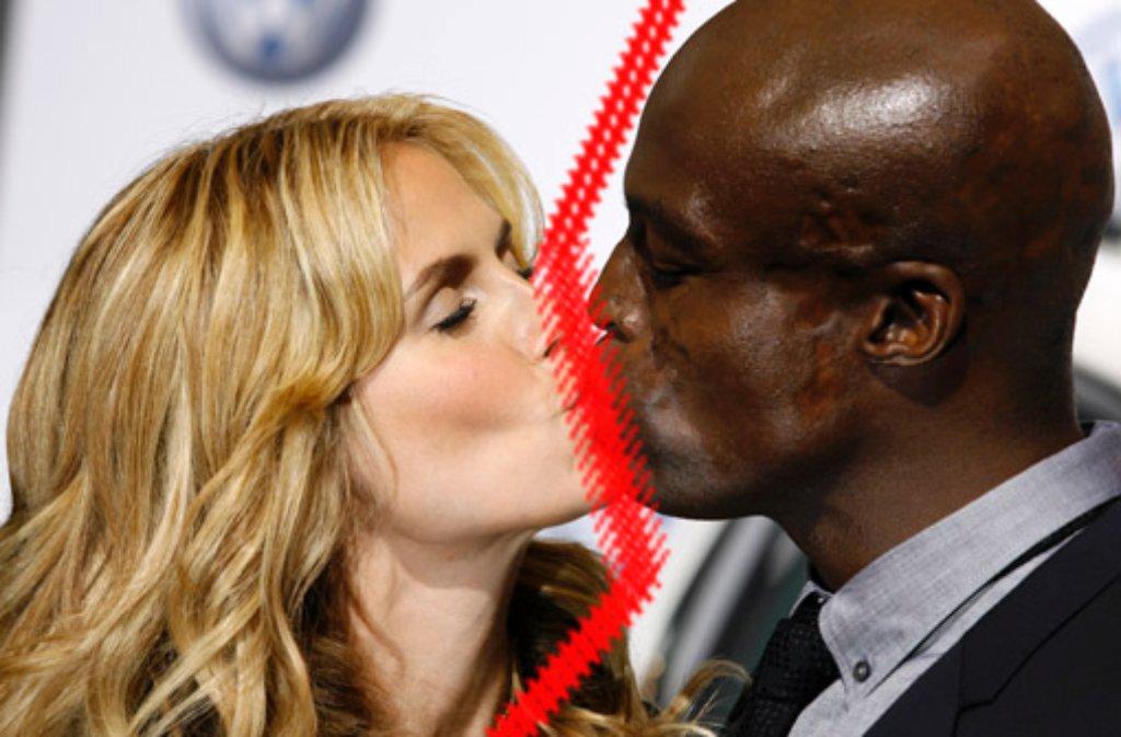 Sie waren das Powerpaar zwischen Bühne und TV-Show, jetzt gaben Heidi Klum und Seal nach sieben Jahren Ehe ihre Trennung bekannt. Foto: AP/Montage: SIR