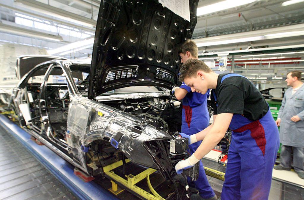 Die Industrie ist und bleibt der Wirtschaftsmotor auch im Kreis Esslingen. Foto: dpa