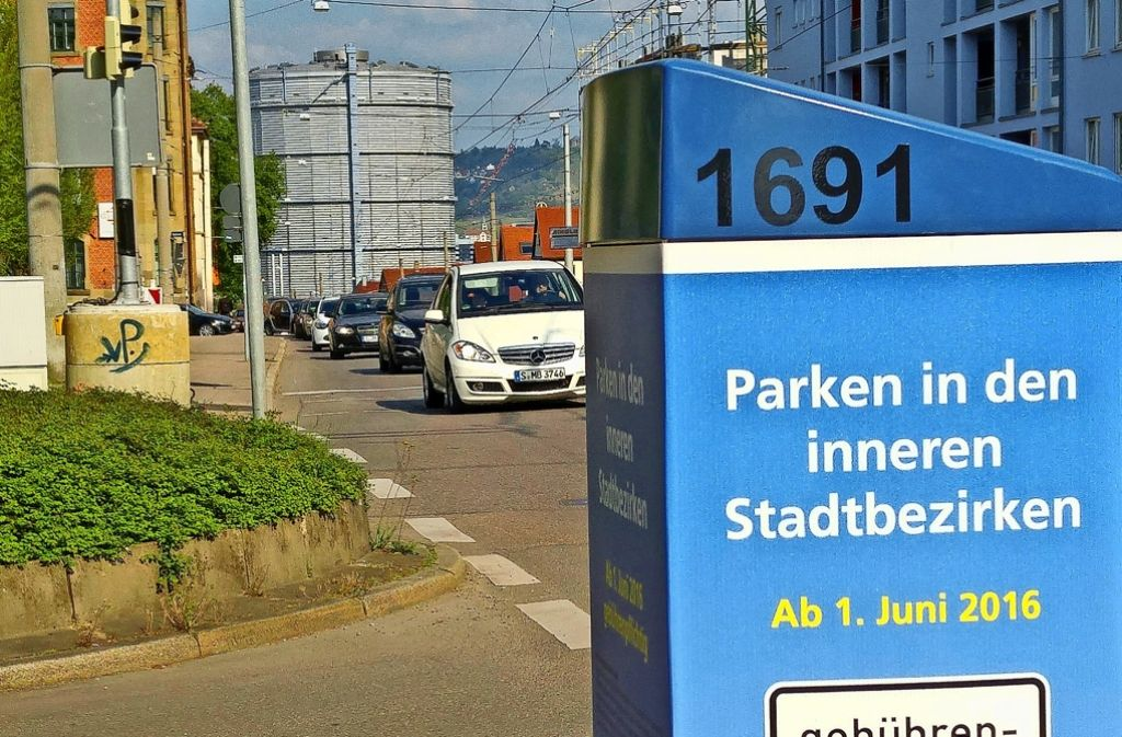 Auch an der Kreuzung Ostend-/Hackstraße steht schon ein Automat. Foto: Jürgen Brand