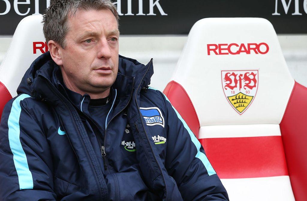 Rainer Widmayer kommt im Juli als Co-Trainer zum VfB Stuttgart – wer dann als Cheftrainer neben ihm sitzt, ist noch offen. Foto: Baumann