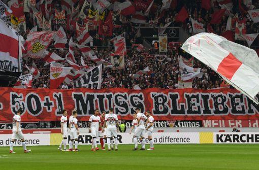 VfB-Fans zählen zu den größten Unterstützern der 50+1-Regel