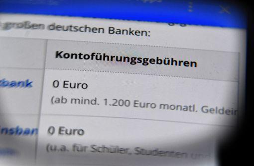 Banken drehen an der Preisschraube