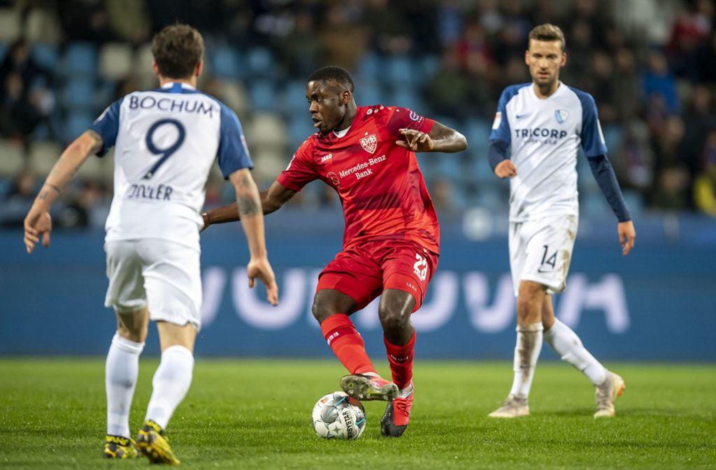 Der VfB Stuttgart hat beim VfL Bochum 1:0 gespielt. Unsere Redaktion hat die Leistungen der einzelnen VfB-Akteure wie folgt bewertet. Foto: dpa/David Inderlied