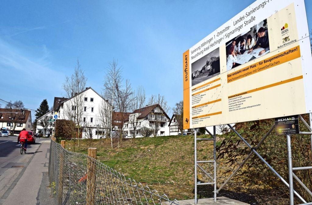 Die Baugemeinschaft möchte auf dem Gelände an der Hechinger Straße in erster Linie Wohnraum schaffen. Foto: Archiv Alexandra Kratz