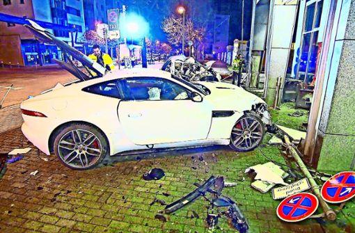 Bewährungsstrafe für Jaguar-Raser gefordert