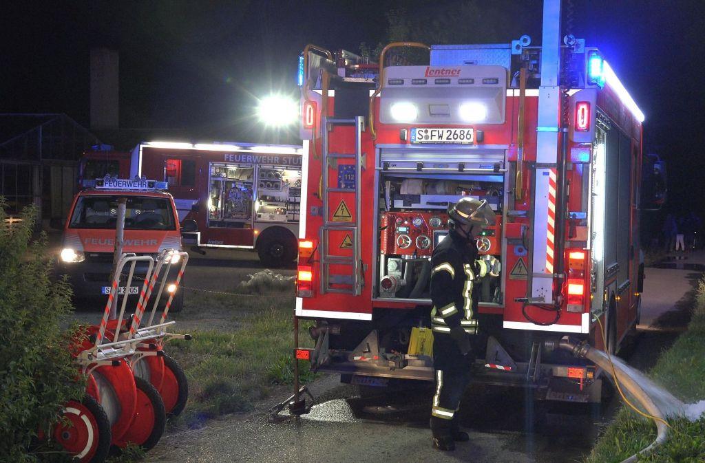 Bei einem Brand in einem Mehrfamilienhaus in Stuttgart sind elf Menschen verletzt worden. Foto: 7aktuell.de/Alexander Hald